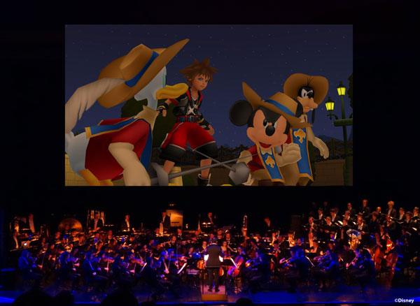 Kingdom Hearts : Une tournée de concerts dans le monde entier