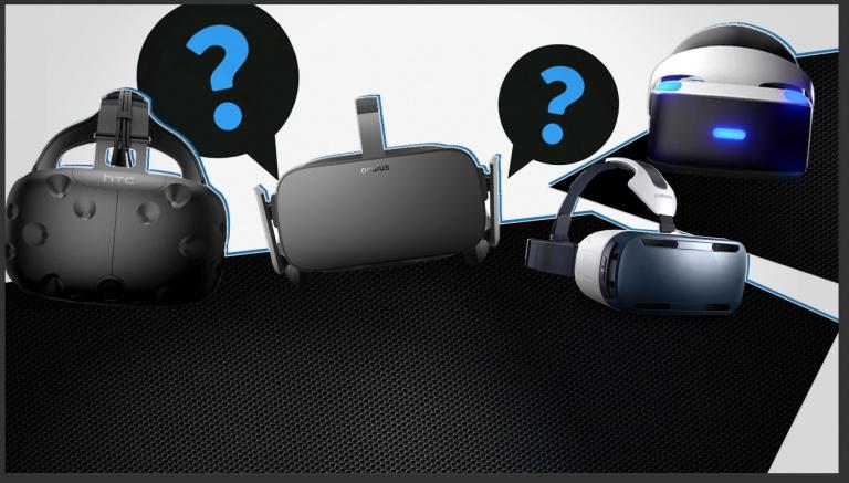 Quel casque de réalité virtuelle choisir et pourquoi ? (Oculus Rift, HTC Vive, PlayStation VR, Gear VR)