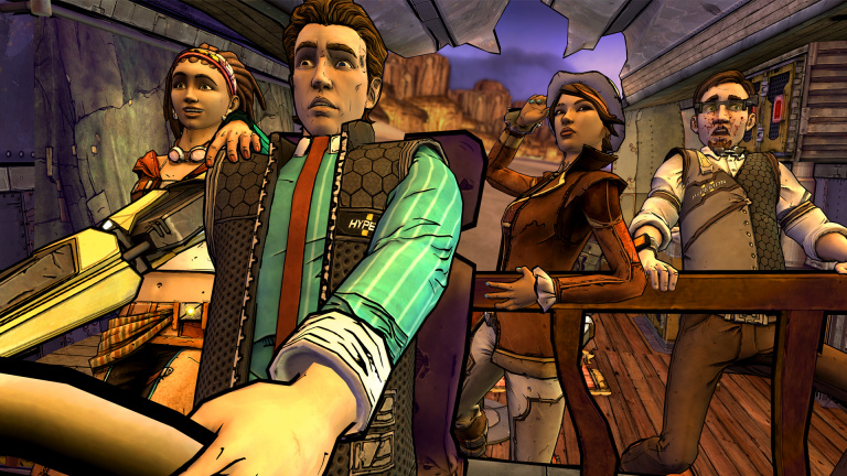 "Tales from the Borderlands débarque en version ""disque"""