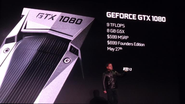 """GeForce GTX 1070 et 1080 : NVIDIA annonce (enfin) ses nouvelles cartes graphiques """"Pascal"""""""