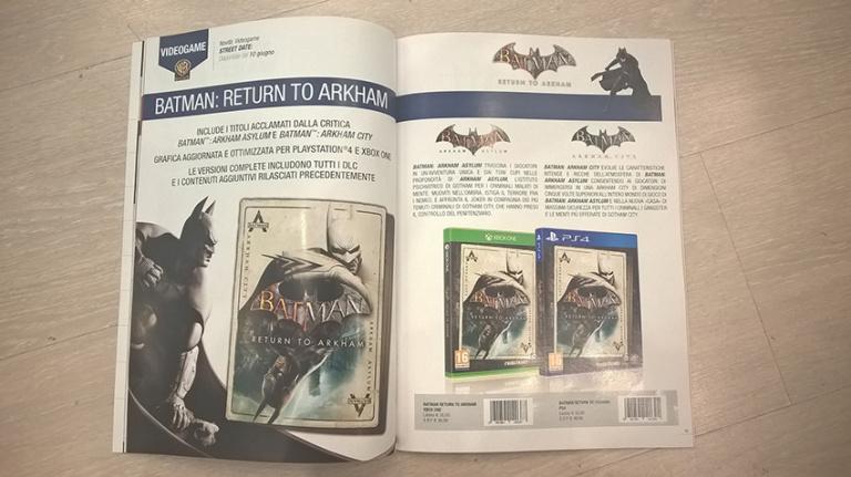 La compilation Batman : Return to Arkham pour le 10 juin prochain ?