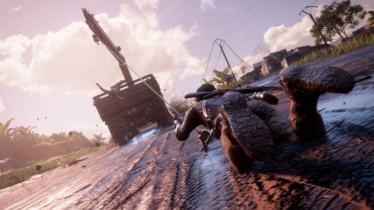Une référence à l'E3 2015 dans Uncharted 4