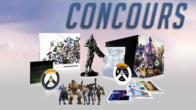 L'édition collector Overwatch à gagner