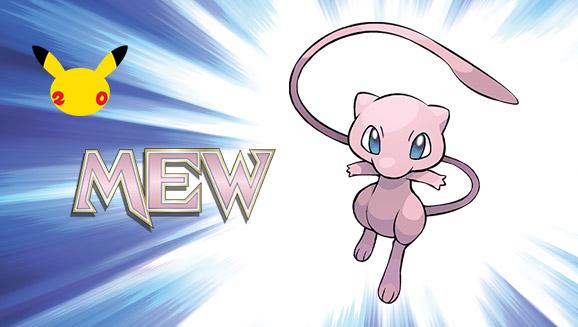 Pokémon : Mew de nouveau distribué gratuitement