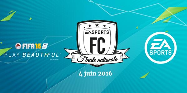 EA Sports FC : la finale française de FIFA 16 le 4 juin