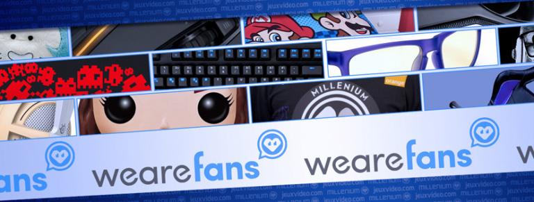La boutique We Are Fans fait peau neuve avec de nombreuses promos !