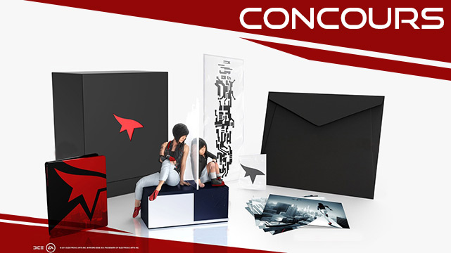 L'édition collector de Mirror's Edge Catalyst à gagner