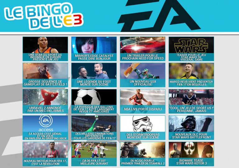 E3 2016 : Dès 20h, on live en amont de la conférence EA