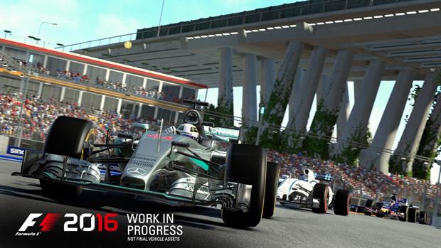 E3 2016 : Quelques tours de piste sur F1 2016
