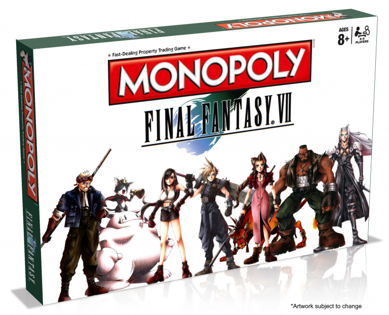 Un Monopoly Final Fantasy 7 en préparation