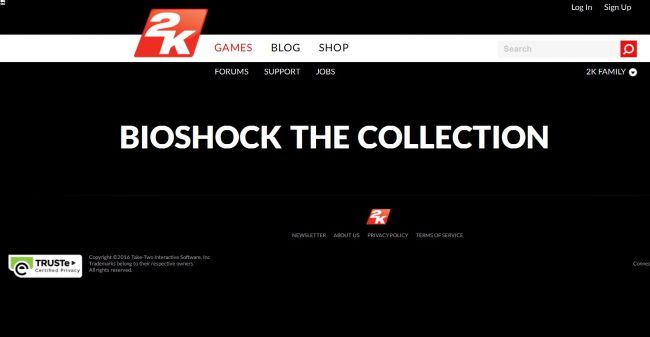BioShock : L'officialisation d'une collection se rapproche