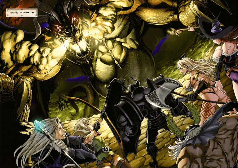 Manga : Avis sur l'adaptation de Dragon's Crown