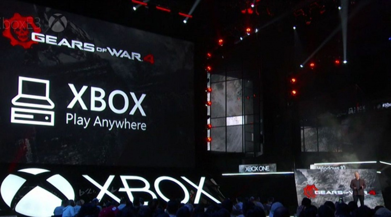 """Tous les prochains jeux Microsoft supporteront le """"Xbox Play Anywhere"""""""