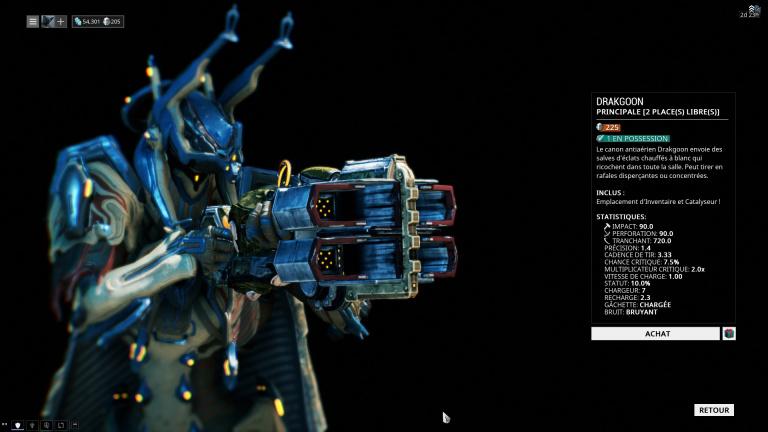 Fusil à pompe Drakgoon