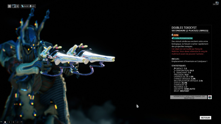 Pistolets doubles Double Toxocyst
