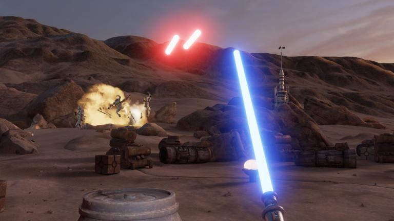 Star Wars Trials on Tatooine sur Steam aujourd'hui