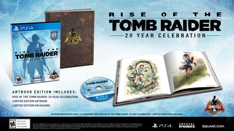 Rise of the Tomb Raider sur PS4 : la date, des nouveautés et de la VR !