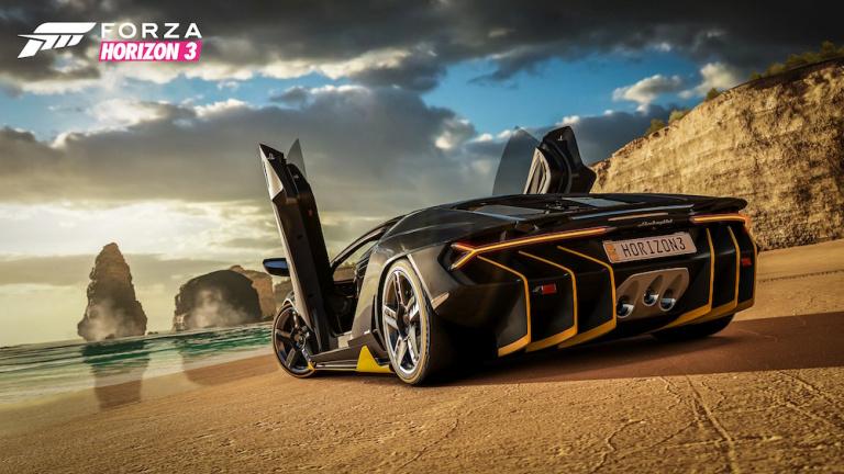 Forza Horizon 3 : un premier aperçu des voitures disponibles dans le jeu