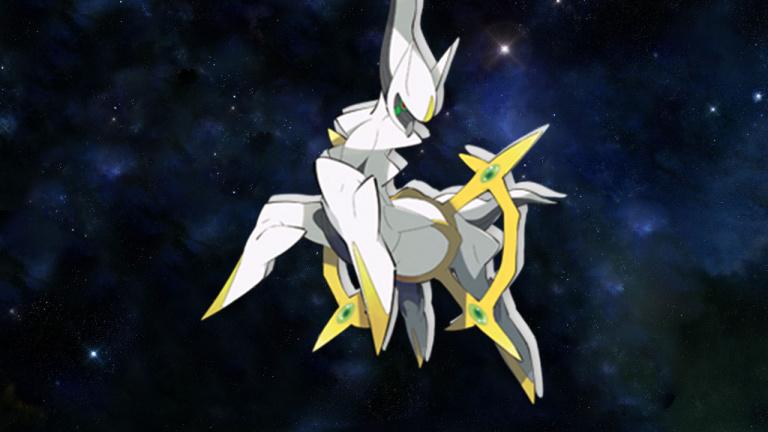 Le Pokémon légendaire Arceus distribué gratuitement chez Micromania