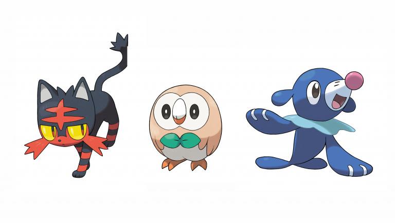 Pokémon Soleil et Lune : Les évolutions des starters en fuite ?