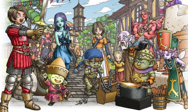 Dragon Quest 10 confirmé sur Nintendo NX
