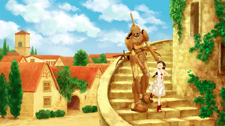 The girl and the Robot sur Steam le 18 août
