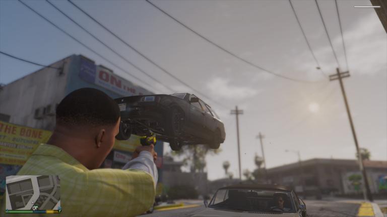 Mods funs pour GTA V
