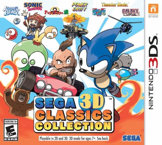 SEGA 3D Classics Collection se trouve une date de sortie européenne