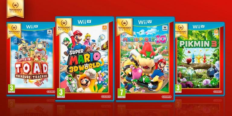 Nintendo Selects : 4 jeux Wii U réédités à petits prix en septembre