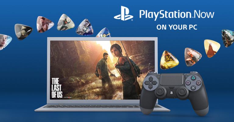 Le PlayStation Now officialisé sur PC