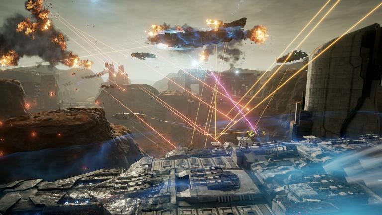 Gamescom 2016 : Dreadnought nous offre ses combats 8V8 façon MOBA spatial !