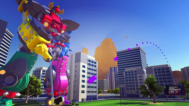 100ft Robot Golf disponible au lancement du PlayStation VR