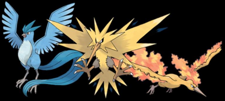 Captures spéciales des Pokémon Légendaires