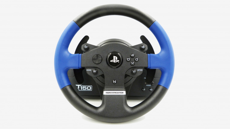 Test du volant Thrustmaster T150 Force Feedback : La force tranquille