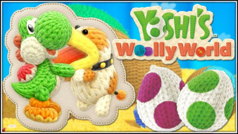 Yoshi's Woolly World arrive également sur 3DS