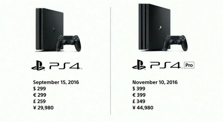 [MAJ] Adieu PS4  Neo, bonjour PS4 Pro : prix et date de sortie !
