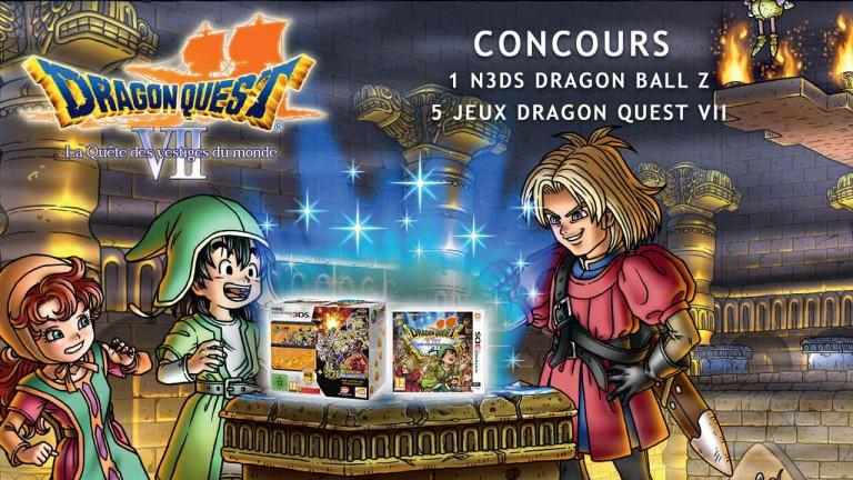Concours Dragon Quest VII : Des jeux et New 3DS à gagner !