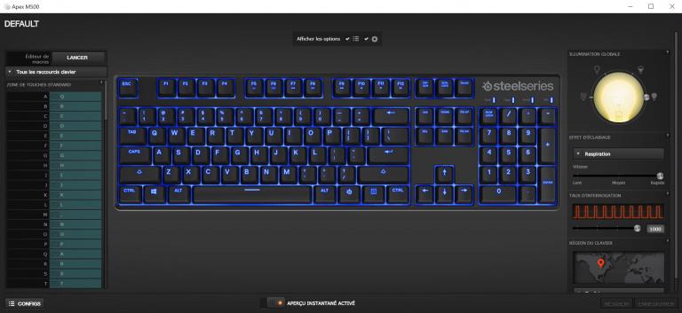 Test SteelSeries APEX M500 : Le digne héritier du clavier 6Gv2 ?