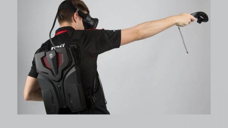 MSI annonce son sac à dos VR aux allures de Jet-Pack