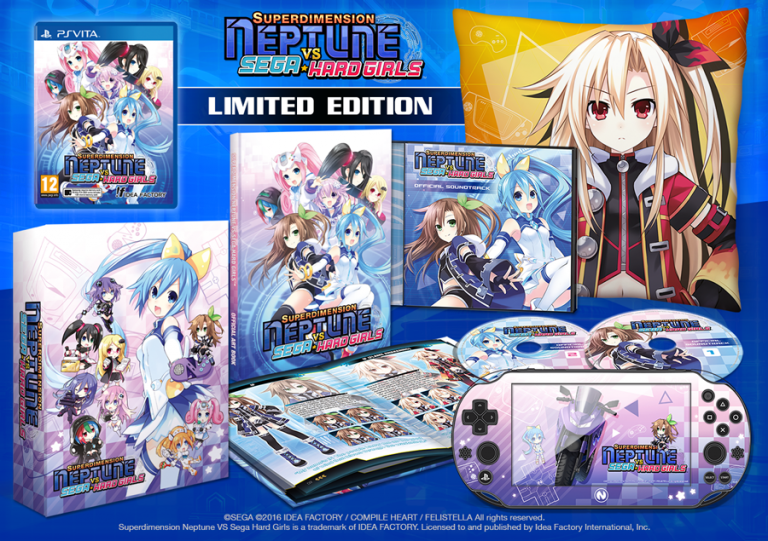 Superdimension Neptune VS Sega Hard Girls : date de sortie et édition limitée