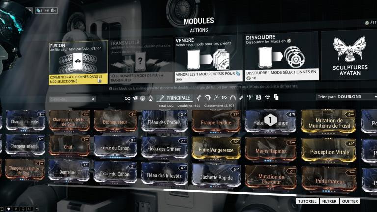 Fusion : Améliorer ses mods