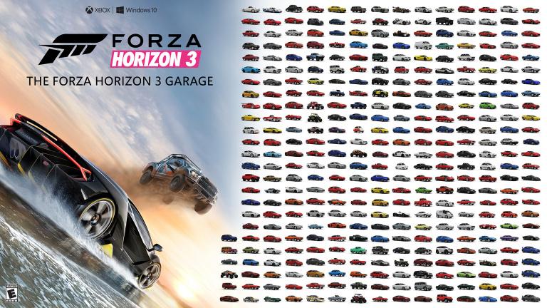 liste complète des voitures - astuces et guide forza horizon 3