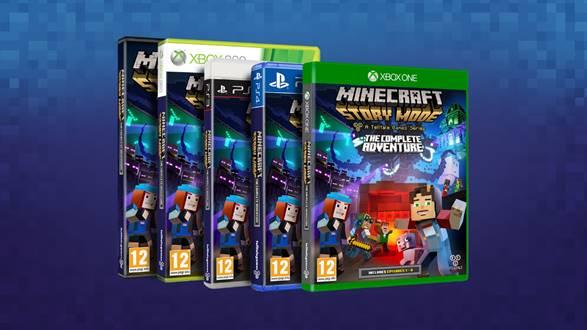 Minecraft: Story Mode annonce sa sortie en boîte