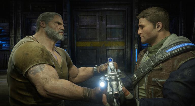 Gears of War 4 - Les Fenix, Gears de père en fils