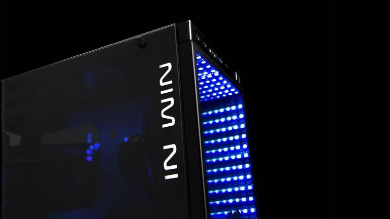 In Win 805 : un boîtier à LED et miroir infini à plus de 300 euros