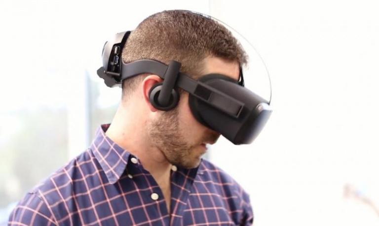 Oculus présente un prototype de casque VR sans fil