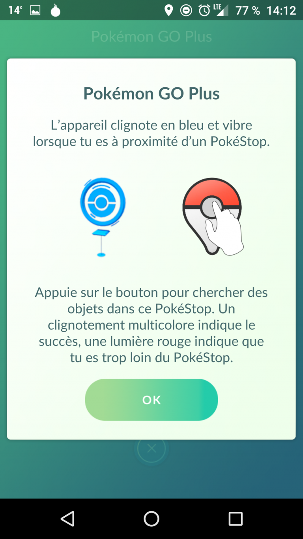 Déballage et mise en route du Pokémon GO Plus