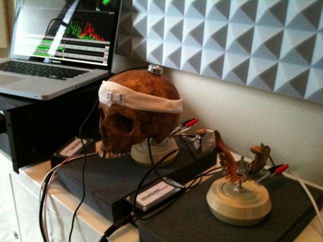 Inside : la bande-son du jeu réalisée grâce à... un crâne humain !