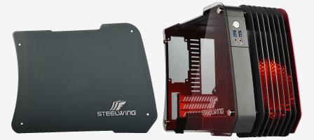 Enermax Steelwing : un boîtier mini-ATX qui mêle aluminium, LED et verre trempé