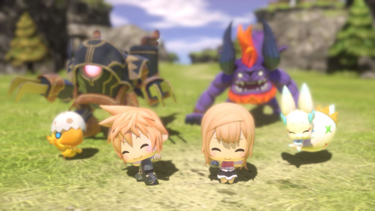 World of Final Fantasy : la démo sera également disponible en France